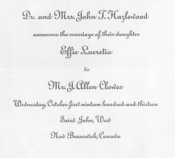 wedding invite for blog